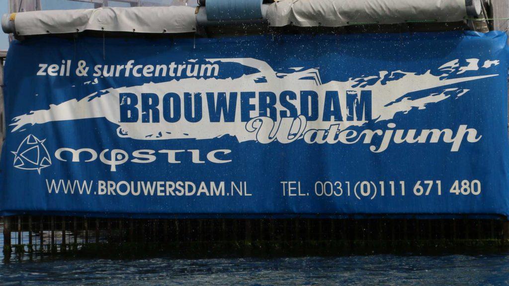 Waterjump Brouwersdam